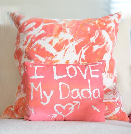 Fabric Resist Pillow