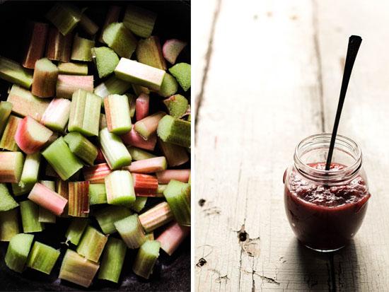 Rhubarb Vanilla Bean Jam Recipe