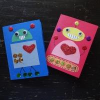 Robot Valentine's Card