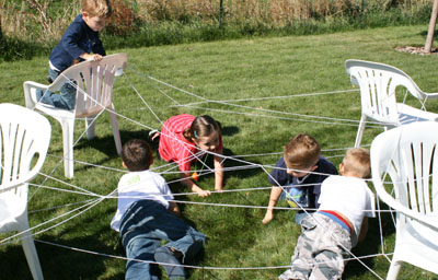 Kid Sized Spider Web Make And Takes