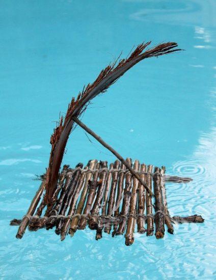 sailing-a-stick-raft