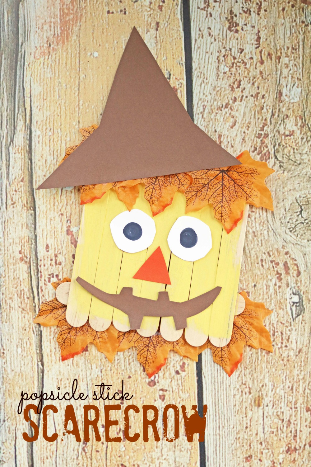 Popsicle Stick Scarecrow Make And Takes