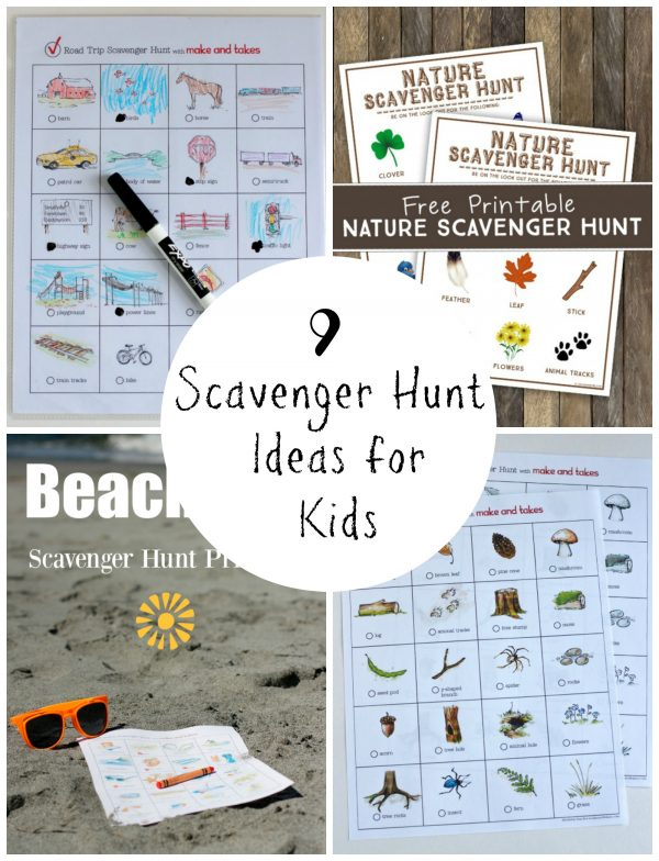 9 Scavenger Hunt Ideas for Kids
