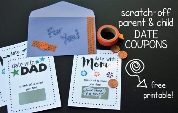 Scratch-off date coupons for your kids!
