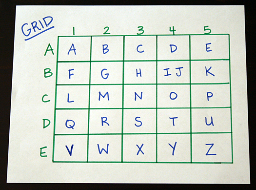 Secret Codes #3: Grid