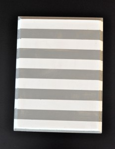 Striped painted wall quote how to make