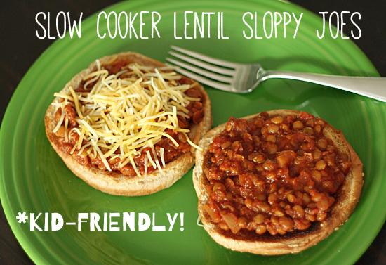 Kids In The Kitchen Slow Cooker Lentil Sloppy Joes Make
