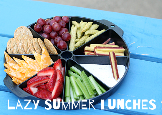 Ideas for lazy summer lunches