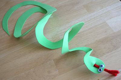Foam Craft Snake