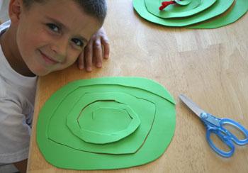 Cut Foam Craft Snake