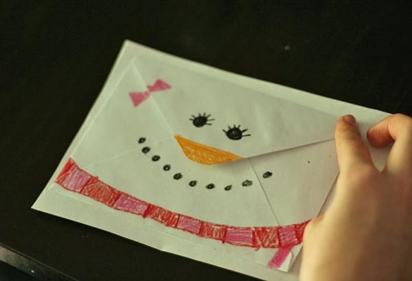 Snowgirl envelope