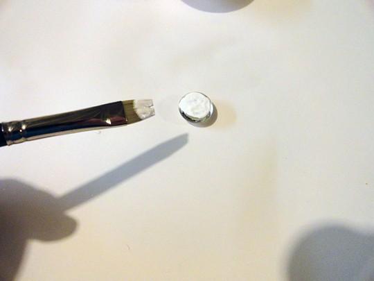 Snowman Magnets glue
