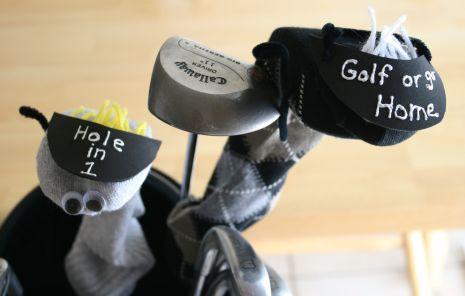 Sock Puppet Golf Cover