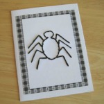 Spider Stitched Card