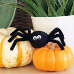 Spider Yarn Poms