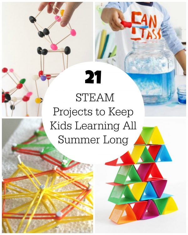 21 STEAM Projects to Keep Kids Learning All Summer Long