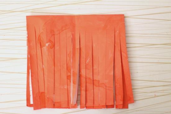step 5 unfold tassels