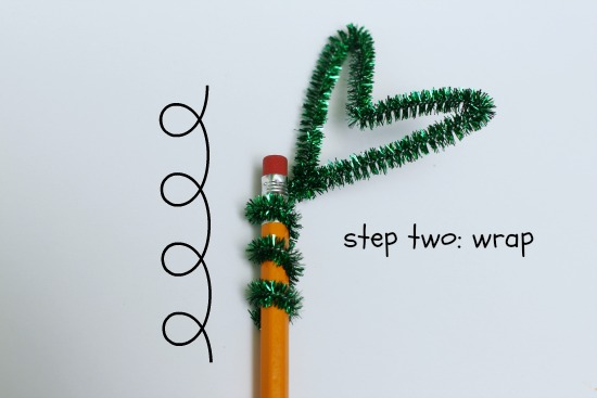 pipe cleaner pencil toppers
