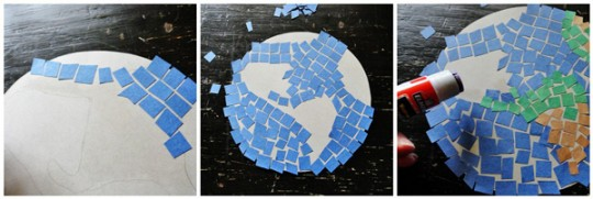 A Mosaic Earth for Earth Day