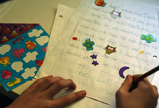 Story writing help for children