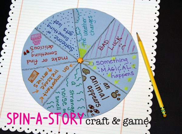 Spin-a-Story Craft and Game