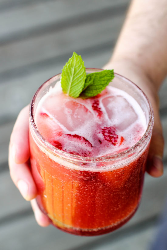 how to make the best strawberry lemonade