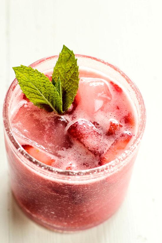 Summer Drink: Strawberry Lemonade