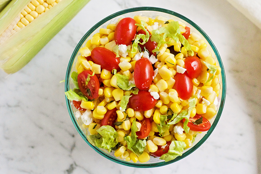 easy summer corn salad recipe