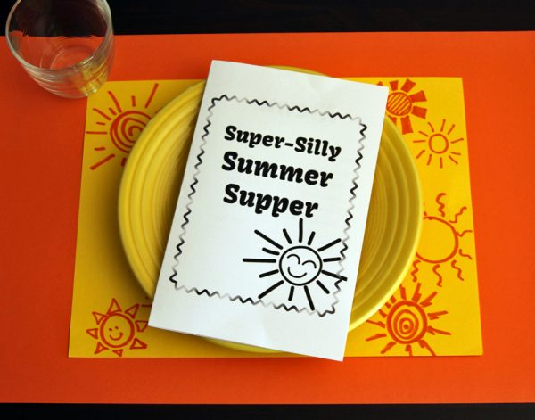 Summer Mystery Meal with printable menu!