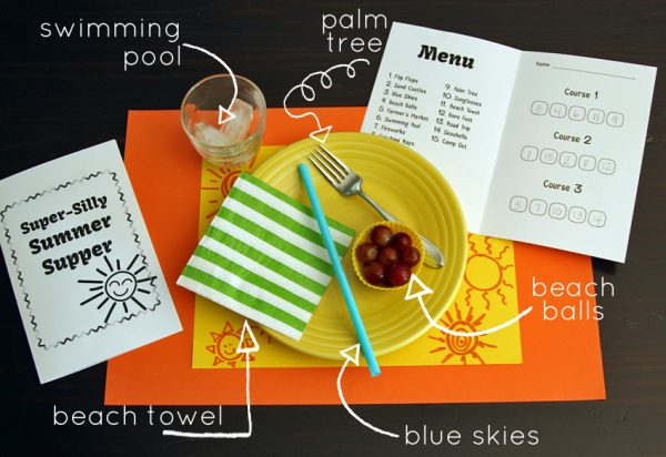 Summer mystery meal for kids