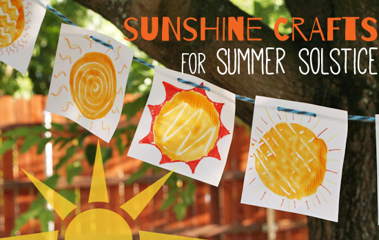 12 Super-Sunny Summer Solstice Crafts