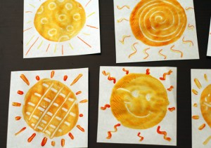 sun-monoprints