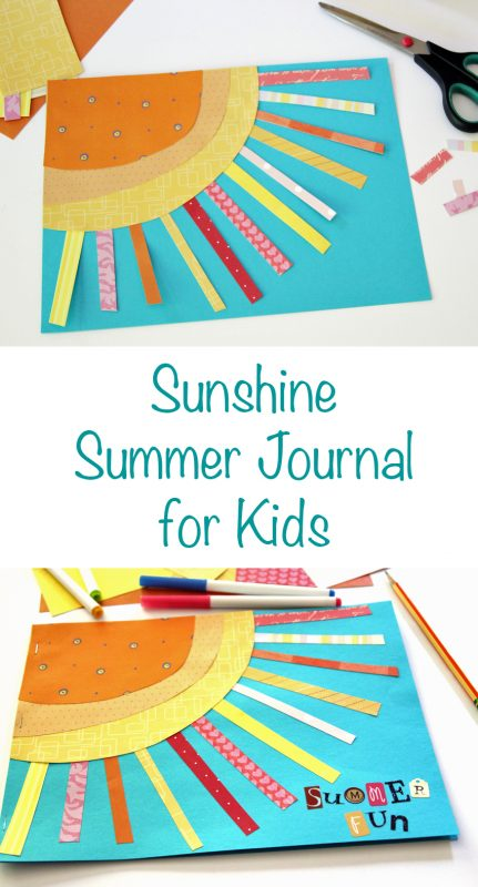 Sunshine Summer Journal for Kids