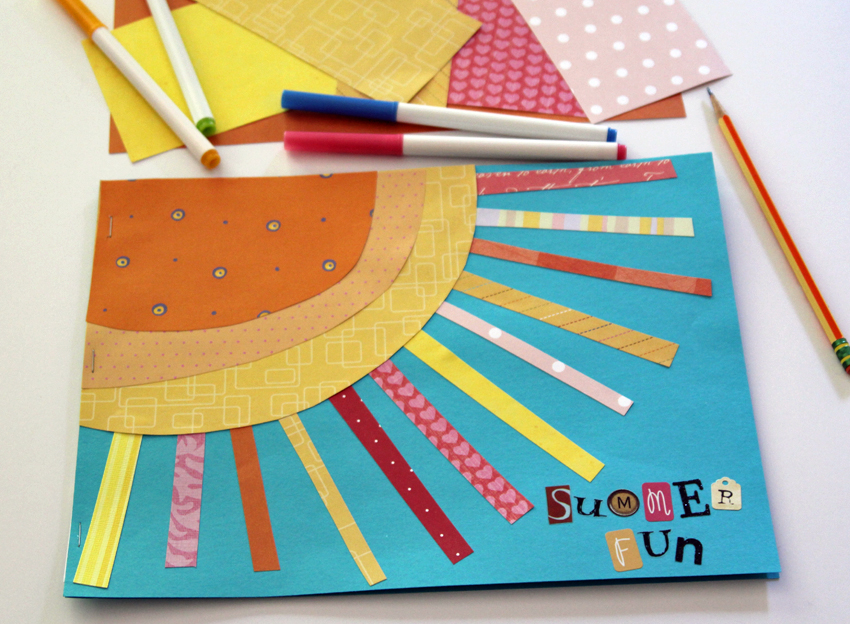 Craft A Sunshine Summer Journal Make And Takes