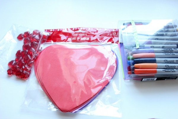 supplies for heart count
