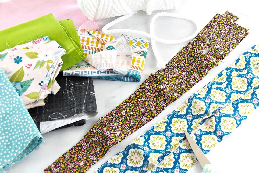 supplies to make a rag rug