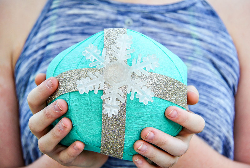 How To Make Crepe Paper Surprise Gift Balls