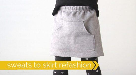 Kangaroo Pocket Skirt