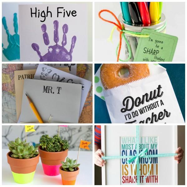Teacher Appreciation Crafts to Make