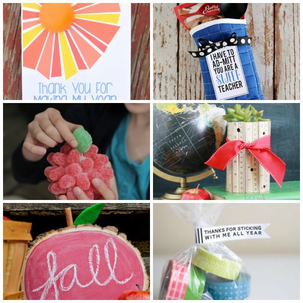 Cute Teacher Appreciation Crafts
