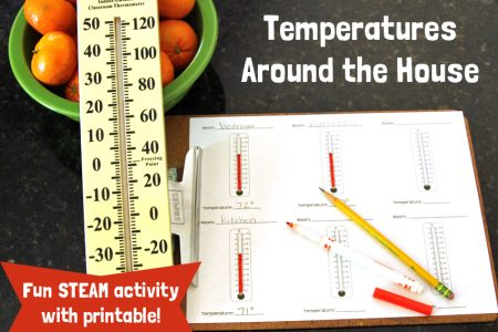 STEAM Activity: Temperatures Around the House
