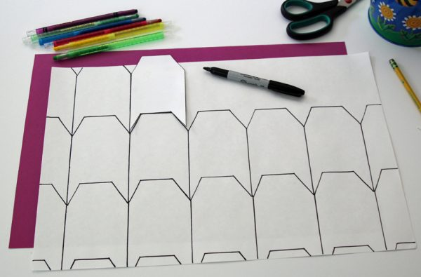 Tessellation house shapes