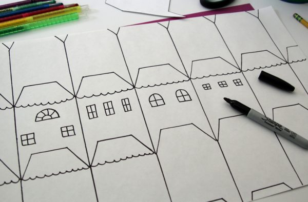Drawing tessellations with kids