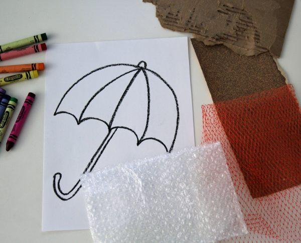 Texture Rubbing Materials