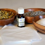 Homemade Bath Oils, Salts, and Herbs