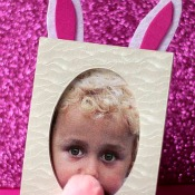 Easter Bunny Picture Frame