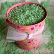 Coloring Rice Green for Spring Time