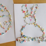 Crushed Easter Egg Shells Craft