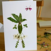 Fancy Flower Card