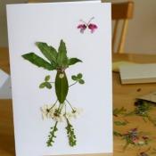 Fancy Flower Card